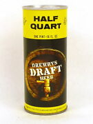 1970 Drewrys Draft 16pz Beer Can Tavern Trove Chicago Il