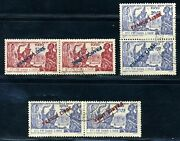 French India 1939 Inverted Overprints Reproductions