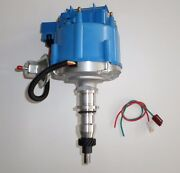 Ford Inline 6 Cylinder 1965-1986 240 And 300 Hei Distributor Straight Six 6 Blue