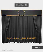 Saaria Stage Home Theater Event Backdrop Movie Cinema Velvet Curtains 13'w X 9'h