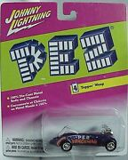 Johnny Lightning Pez Series 4 Topper Wasp With Graphics