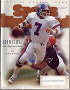 1996 / 1997 Sports Illustrated Denver Broncos John Elway Subscription Issue Exc