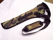 Woodland Camo Right Hand Bandoleer Holster For The Mareand039s Leg W/ 12.9 Barrel