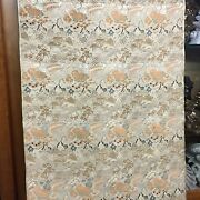 Large Vintage Tapestry Wall Hanging 26 X 68  Fs