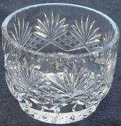 Beautiful Crystal Footed Open Candy Dish - Crystal - Vgc - Greatcrystal Piece