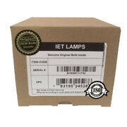Samsung Hlr5678w Hlr5678wx/xaa Lr6156w Tv Lamp With Philips Bulb Inside
