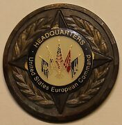United States European Command Chief Of Staff 3-star Challenge Coin