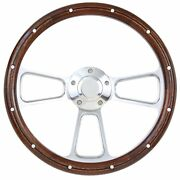 1958 1959 1960 Ford F1 F100 Pick Up Truck Wood And Billet Steering Wheel Full Kit