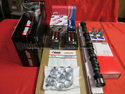 Pontiac 400 Master Engine Kit Forged Pistons+rings+street Cam+lifters+dbl Timing