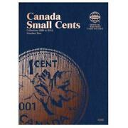 Canada Small Cents Coin Folder Number Two - Whitman Publishing Cor - New Hardc