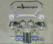 1949-1954 Chevy Mustang Ii Complete Front Suspension Power Stock Kit + Sway Bar