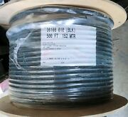 8 Awg Belden 36108 Black Entire Rollbrand New And Hard To Find Made In Usa