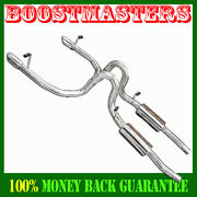 For 99-04 Ford Mustang Gt Coupe 2d4.6l V8 Only 4 Tip Od Ss Dual Catback Exhaust