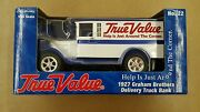 True Value 125 Scale 1927 Graham Brothers Delivery Truck Bank