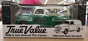 True Value 125 Scale 1950 Ford Panel Van Bank