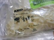 Tyco Strain Relief Cover 6p Closed End Lot Of 400 Pc Part 643075-6