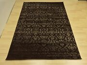 Rugs Area Modern Design Contemporary Brown Color 5x7 Rug Carpets Flooring