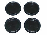 Gm 1-5/8 Chevy Pontiac Plastic Body Plug With Indented Depressed Center 4pcs Nd