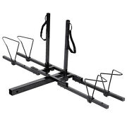 New 2 Bike Bicycle Carrier Hitch Receiver 2and039 Heavy Duty Mount Rack Truck Suv