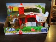 Fisher Price Little People Hay Stackin' Stable Barn Horse Sofie New Ranch Farm