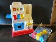 Vintage 1991 Fisher Price Gas Station Toddler 1032 Wrench Pump Oil Garage Toy