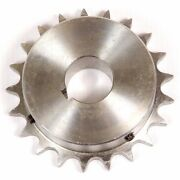 Roller Chain Sprocket 8sr24 25mm Bore Key And 2 Grub Screws 1 Pitch 24 Tooth