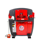 New Edwards 100 Ton Dlx Iron Worker - Plus Extra Round Punch And Die Sets