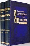 1875 Expository Lectures On The Epistle To The Hebrews By Saphir Spurgeon Rec