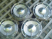 1963 1964 Chevrolet Chevy Ii Hubcaps Wheel Covers Center Caps Vintage Classic