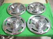 1966 66 Corvette Vette Hubcap Rim Wheel Cover Hub Cap 15 Used Original Spinner