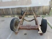 1953 Ford F350 1 Ton Dully Rolling Chassis Drive Train Parts And Papers