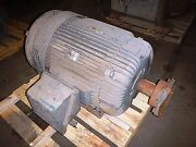 75 Hp Reliance Electric Motor 900 Rpm 444t 445t Frame Tefc 460 V 1.15 S.f.