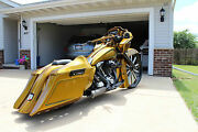 Sinister Dirty Bird Concepts Stretched Saddlebags And Rear Fender Top Shelf 09up