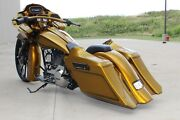 2014 2015 Touring Harley Stretched Saddlebags And Rear Fender Bags Bagger
