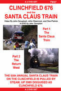 Tw27 Clinchfield 676 And The Santa Claus Train By John Szwajkart - Unrated