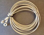 Whiting Style Roll-up Box Truck Trailer Stainless Door Cable Set And Hardware 5/16
