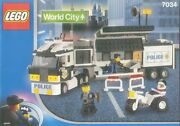 New Lego Town City Police 7034 Surveillance Truck Sealed 2003and039