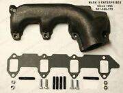 1958-1965 Thunderbird Exhaust Manifold Drivers Side Left Includes Mounting Kit