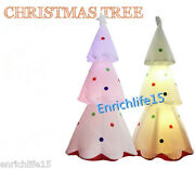 3mspecial White Inflatable Christmas Tree With Colorful Led Lights For Christmas