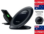 Qi Fast Charger Dock Stand Samsung Oem Overseas Version In Retail Box - Local