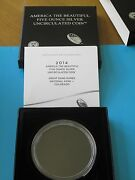 Packaging Us Mint And Coa For 2014-p Shenandoah Atb 5 Oz. Silver Specimen No Coins