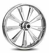 Rc Components Chrome Raider 21 Front Wheel And Tire Harley 00-06 Fl Softail