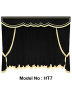 Saaria Home Theater Stage Curtain/photography/event Velvet Curtains 22'wx8'h Ht7