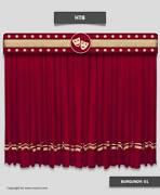 Saaria Stage Curtains/home Theater Backdrop 20and039w X 8and039h Custom Colors Available