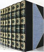 1920 Works Of Laurence Sterne Bound By Riverside Press Illustrated By Cruikshank