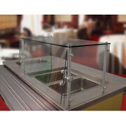 Advance Tabco Gsgc-12-48 48 Stationary Cafeteria Style Food Shield