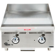 Star 824ma 24 Countertop Gas Griddle W/ Manual Controls