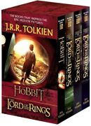 J.r.r. Tolkien 4-book Boxed Set The Hobbit And The Lord Of The Rings [new Book]