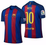 Nike Lionel Messi Fc Barcelona Authentic Vapor Match Home Jersey 2016/17