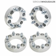 4x Wheel Spacers Adapters 1.5and039and039 6x5.5 12x1.5 Fit Toyota Tacoma 4runner 6 Lugs